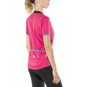 Sportful Luna Jersey Women pink coral/black